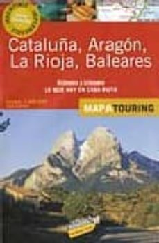 Garumclubgourmet.es Mapa De Carreteras 2008 (1:340000): Cataluña, Aragon, La Rioja Y Baleares (Mapa Touring) Image
