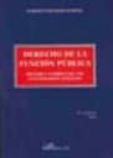 Noticiastoday.es Derecho De La Funcion Publica: Regimen Juridico De Los Funcionari Os Publicos (8ª Ed) Image