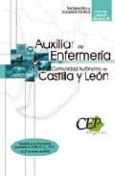 Trailab.it Auxiliar De Enfermeria (Personal Laboral Grupo Iii) Comunidad Aut Onoma De Castilla Y Leon. Test Especifico Y Supuestos Practicos Image