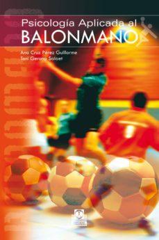 psicología aplicada al balonmano (ebook)-ana cruz perez-9788499108148
