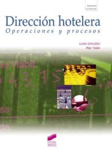 dirección hotelera (ebook)-lydia gonzalez-pilar talon-9788499582948