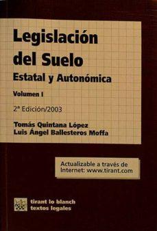 Iguanabus.es Legislación Del Suelo, Estatal Y Autonómica. Volumen I Image