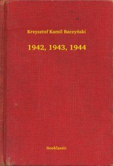 1942 1943 1944 Ebook Krzysztof Kamil Baczyński