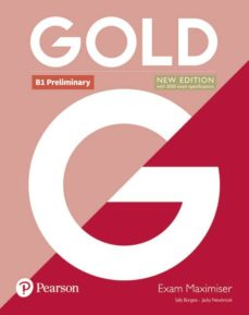 Libro de texto descargas de libros electrónicos gratis GOLD PRELIMINARY NEW EDITION MAXIMISER 9781292202358 in Spanish  de SALLY BURGESS
