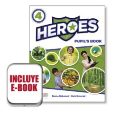 Descargar libros de google epub HEROES 4 PUPIL´S BOOK  EBOOK PACK