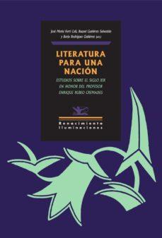 Valentifaineros20015.es Literatura Para Una Nación Image