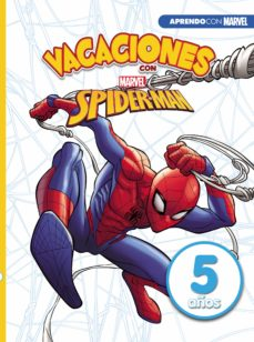 Chapultepecuno.mx Vacaciones Con Spiderman: 5 Años (Aprendo Con Marvel) Image