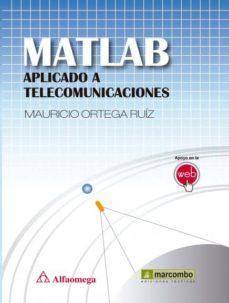 matlab aplicado a telecomunicaciones-9788426722058