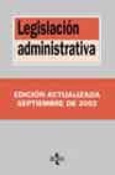 Bressoamisuradi.it Legislacion Administrativa (6ª Ed. 2003) Image