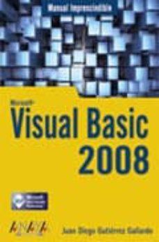 Debatecd.mx Visual Basic 2008 (Manual Imprescindible) Image