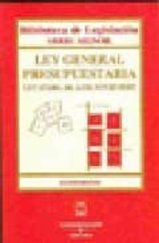 Geekmag.es Ley General Presupuestaria (4ª Ed.) 47/2003 De 26/11 Image
