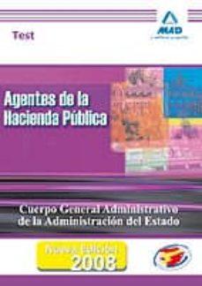Geekmag.es Agentes De La Hacienda Publica. Cuerpo General Administrativo De La Administracion Del Estado. Test Image