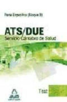 Encuentroelemadrid.es Ats/due Del Servicio Cantabro De Salud. Test Parte Especifica (Bl Oque B) Image