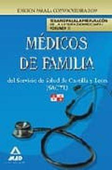 Upgrade6a.es Medicos De Familia Del Servicio De Salud De Castilla Y Leon (Sacy L) Temario Para La Preparacion De La Bateria De Preguntas Vol Ii Image