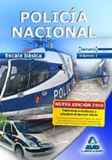 Padella.mx Escala Basica De Policia Nacional: Temario, Volumen I Image