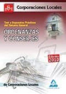Vinisenzatrucco.it Ordenanzas Y Conserjes De Corporaciones Locales. Test Del Temario General Y Supuestos Practicos Image