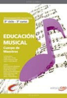 Padella.mx Cuerpo De Maestros. Educacion Musical (3er Ciclo5º Curso). Prog Ramacion Didactica Image