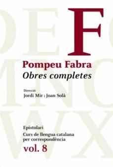Ojpa.es Obres Completes Pompeu Fabra (Vol. 8) Image