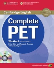 complete pet: workbook with answers with audio cd-9788483237458