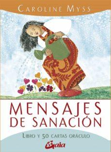 Upgrade6a.es Mensajes De Sanacion: Libro Y 50 Cartas Oraculo Image