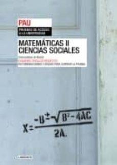 PAU MADRID MATEMATICAS-CIENCIAS SOCIALES II + SEPARATA - VV.AA. | Triangledh.org