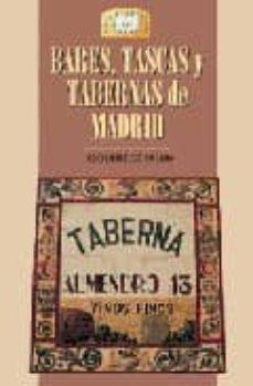 bares, tascas y tabernas de madrid-jesus diez de palma-9788489411258