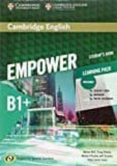 Descargas de libros de adio gratis CAMBRIDGE ENGLISH EMPOWER FOR SPANISH SPEAKERS B1+ STUDENT S BOOK WITH ONLINE ASSESSMENT AND PRACTICE AND WORKBOOK de