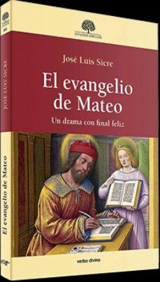 Android ebook pdf descarga gratuita EL EVANGELIO DE MATEO 9788490735558 ePub MOBI iBook de JOSE LUIS SICRE in Spanish