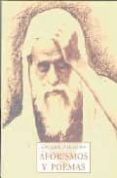 Descargas de libros de epub de Google AFORISMOS Y POEMAS  9788497166058 de SAYJ AHMAD AL-ALAWI (Spanish Edition)