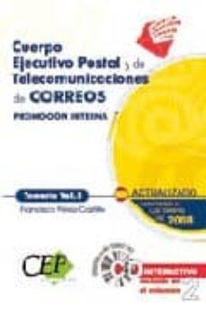 Inmaswan.es Cuerpo Ejecutivo Postal Y De Telecomunicaciones De Correos Promocion Interna. Temario Volumen I Image