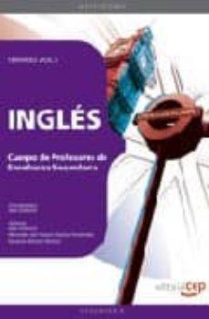 Debatecd.mx Cuerpo De Profesores De Enseñanza Secundaria: Ingles: Temario (Vo L. I) Image