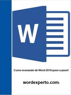 curso avanzado de word paso a paso (ebook)-cdlap00010158