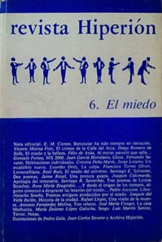 Carreracentenariometro.es Revista Hiperión 6. El Miedo Image