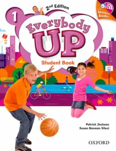 Descargar gratis audiolibros ipod EVERYBODY UP : LEVEL 1: STUDENT BOOK WITH AUDIO CD PACK: LEVEL 1 : LINKING YOUR CLASSROOM TO THE WIDER WORLD iBook de  en español