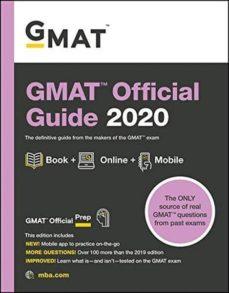 Libros gratis sobre descargas de audio. GMAT OFFICIAL GUIDE 2020: BOOK + ONLINE (Literatura española) CHM 9781119576068 de