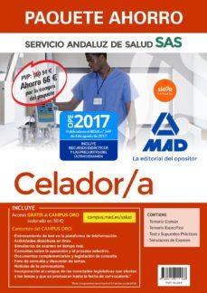 Mrnice.mx Paquete Ahorro Celador Del Servicio Andaluz De Salud. (Incluye Temario Común, Temario Específico, Test Y Supuestospuestos Prácticos, Simulacros De Examen Y Acceso Campus Oro) Image