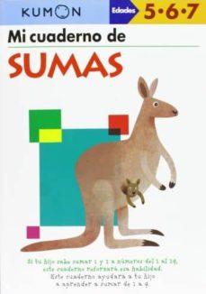 metodo kumon: mi libro de sumas-9788415857068