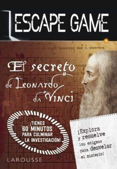Descarga electrónica de la colección de libros electrónicos ESCAPE GAME. EL SECRETO DE LEONARDO DA VINCI FB2 (Literatura española) de  9788417720568