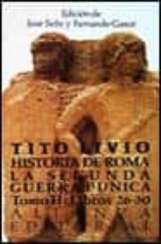 historia de roma la segunda guerra punica: libros 26-30 (t.2)-tito livio-9788420605968