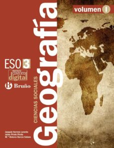 Bressoamisuradi.it Contextodigital Geografia Ciencias Sociales 3 Eso - 3 Volumenes Image
