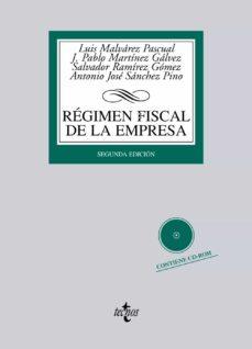 Iguanabus.es Regimen Fiscal De La Empresa (Incluye Cd) Image