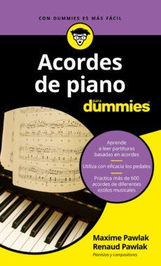Descargar ACORDES DE PIANO PARA DUMMIES gratis pdf - leer online