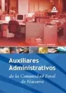 Eldeportedealbacete.es Auxiliar Administrativo De La Comunidad Foral De Navarra. Temario Juridico Image