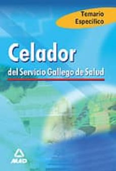Titantitan.mx Celador Del Servicio Gallego De Salud: Temario (Temas 1 A 8) Image