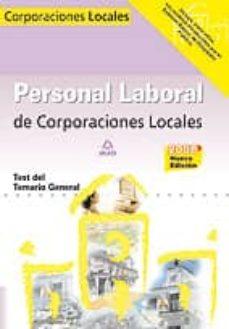 Cronouno.es Personal Laboral De Corporaciones Locales. Test Del Temario Gener Al Image
