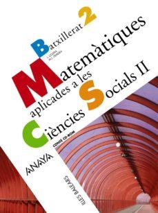 Cronouno.es Matemàtiques Aplicades A Les Ciències Socials Ii. 2º Bachillerat Illes Balearscatalán Image