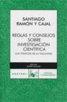Enmarchaporlobasico.es Reglas Y Consejos Sobre Investigacion Cientifica: Tonicos De La V Oluntad Image