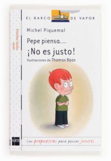 Inmaswan.es Pepe Piensa: ¡No Es Justo! Image