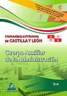 Asdmolveno.it Cuerpo Auxiliar De La Administracion De La Comunidad Autonoma De Castilla Y Leon. Test Image