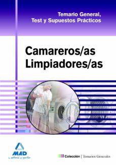 camareros/as limpiadores/as. temario general, test y supuestos pr acicos-9788467661668